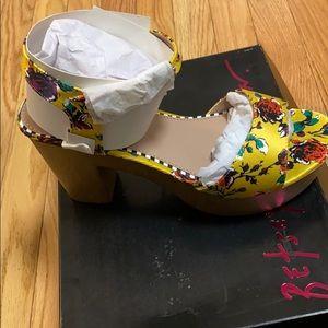 Betsey Johnson Penn Platform Dress Sandals